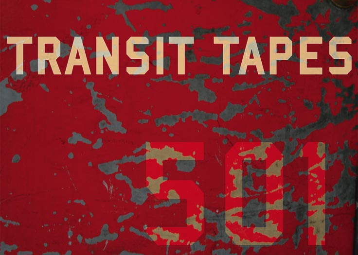 Transit Tapes Logo Paint Peeling