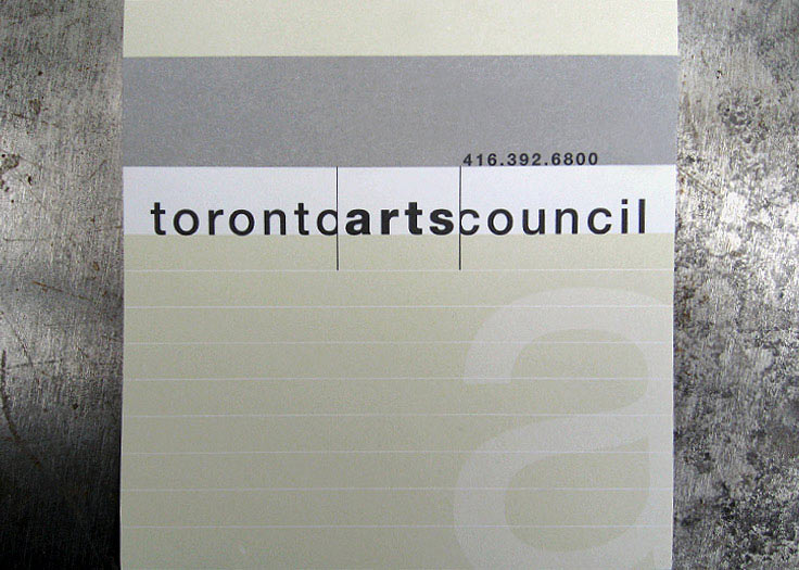 City of Toronto - Toronto Arts Council Logo