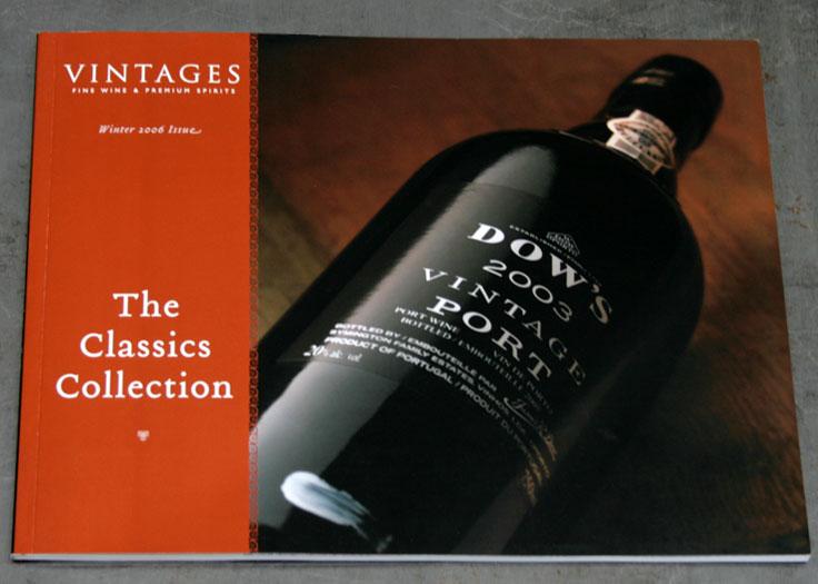 LCBO Classics Catalog Cover