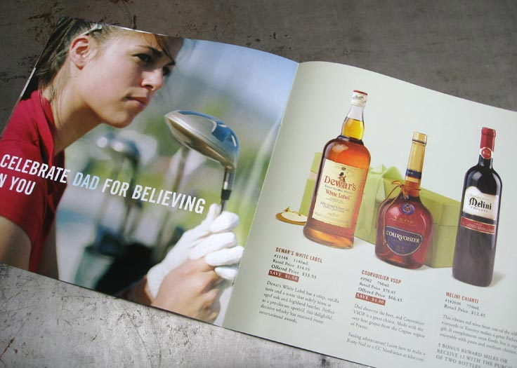 LCBO Celebrate Dad Father's Day Insert Spread 1