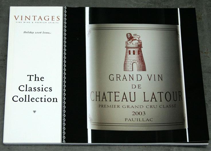 LCBO Classics Catalog Cover #2