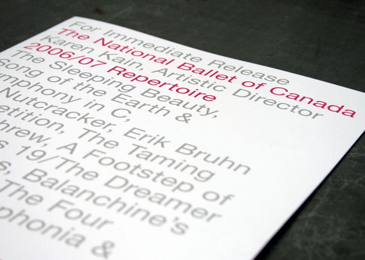 National Ballet of Canada Media Kit