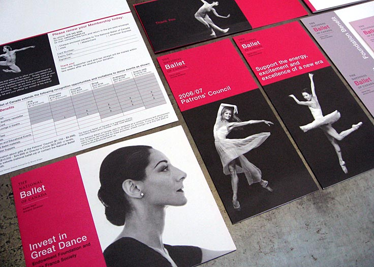 National Ballet of Canada Investment Brochures