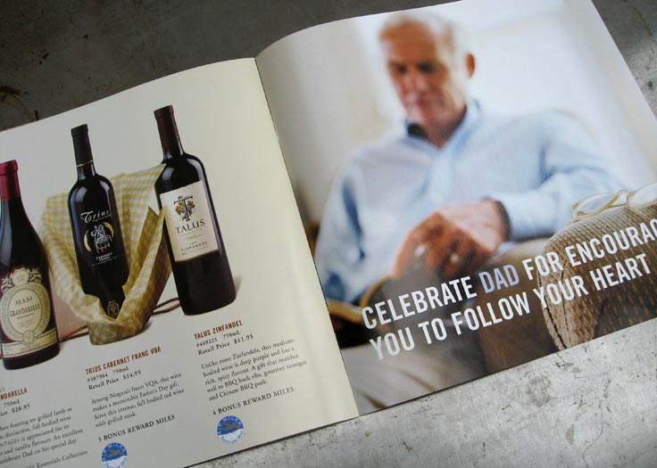 LCBO Celebrate Dad Father's Day Insert Spread 2