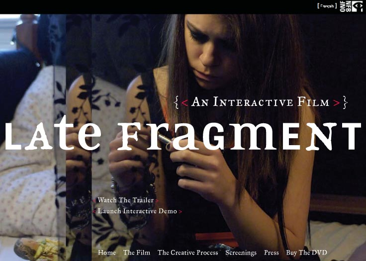 Late Fragment Website Homepage