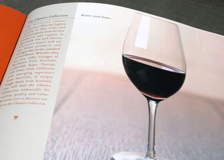LCBO Classics Catalog Wine Glass Spread