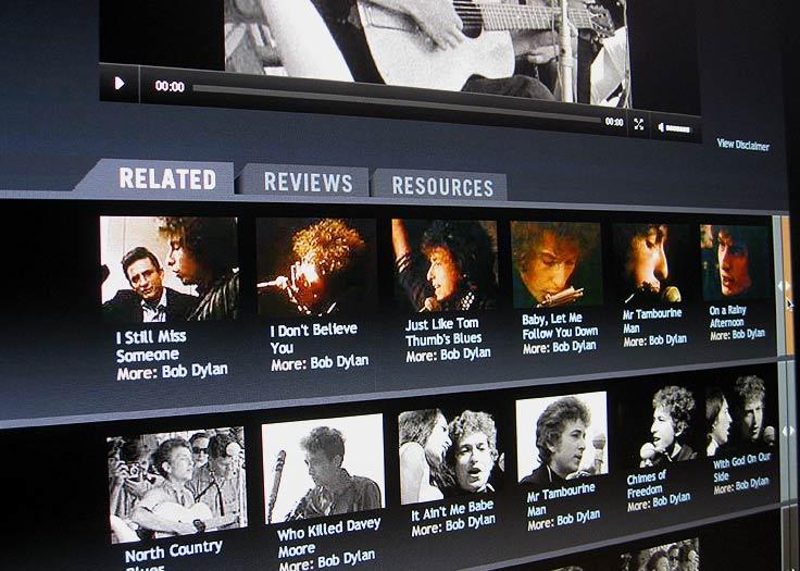RockPeaks Related Dylan