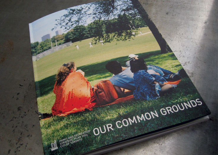 City of Toronto - Our Common Grounds Cover
