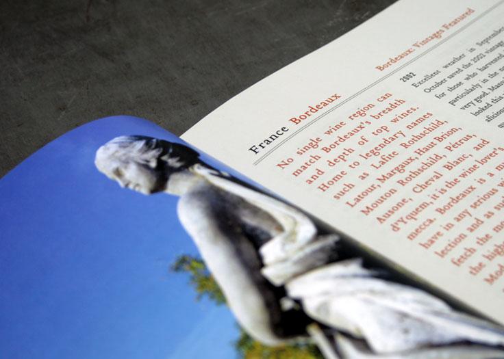 LCBO Classics Catalog Statue and Bordeaux Spread