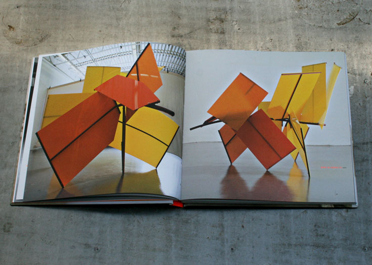 Tim Scott X - Orange Sculpture