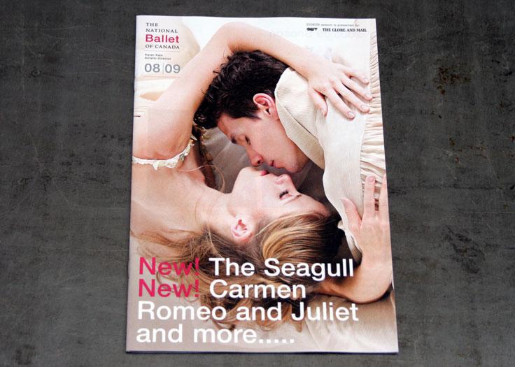 National Ballet of Canada 2008-09 Season Brochure