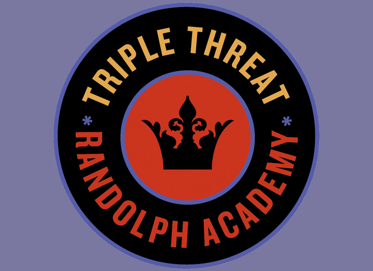 Randolph Academy Triple Threat Logo