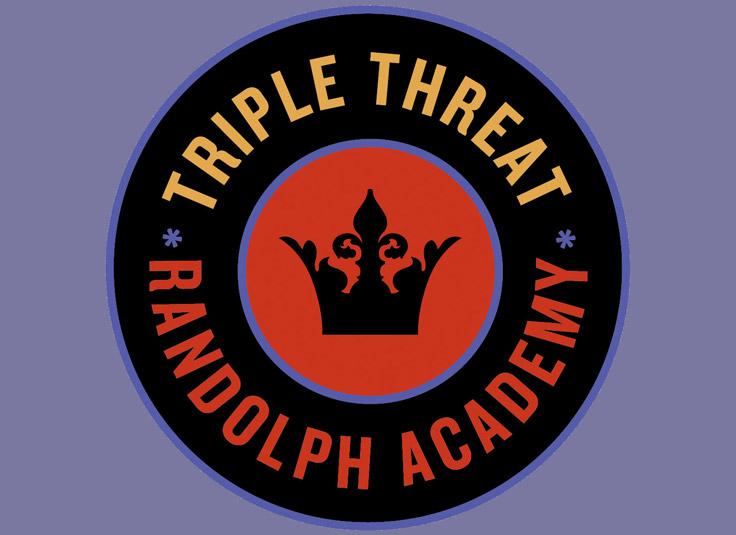 Randolph Academy Triple Threat Logo