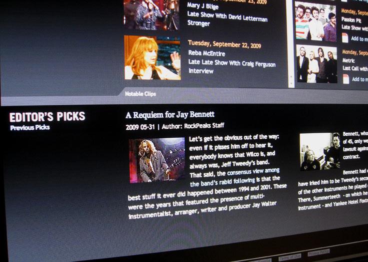 RockPeaks Editor's Picks