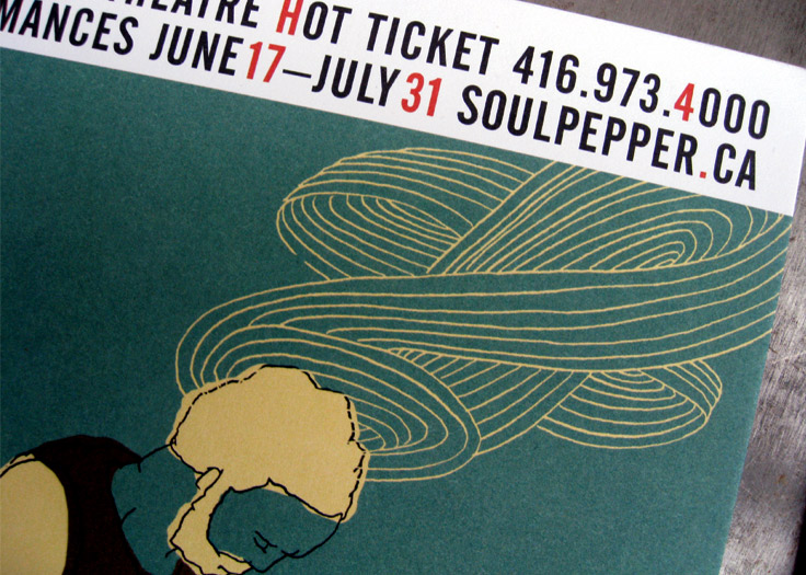Soulpepper Nathan Postcard