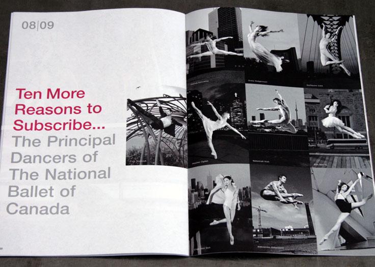 National Ballet of Canada 2008-09 Principal Dancers Spread