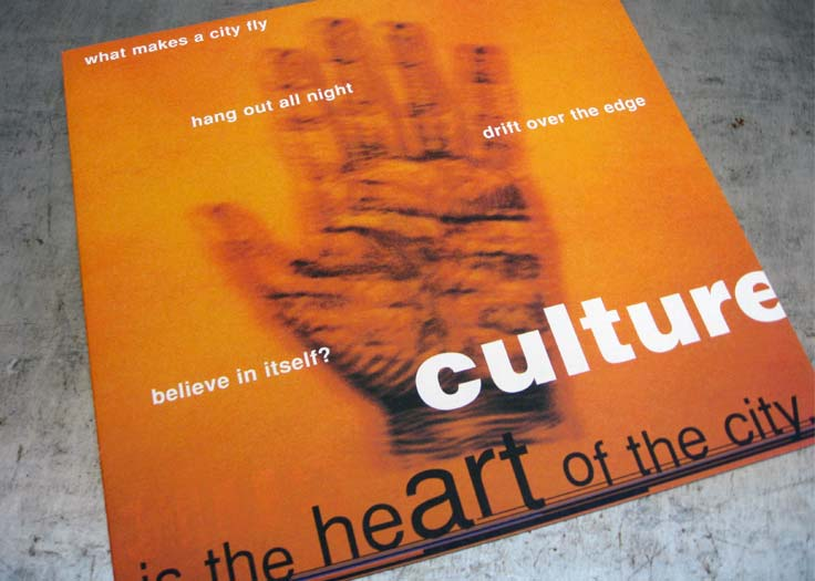 City Of Toronto Culture Brochure Cover