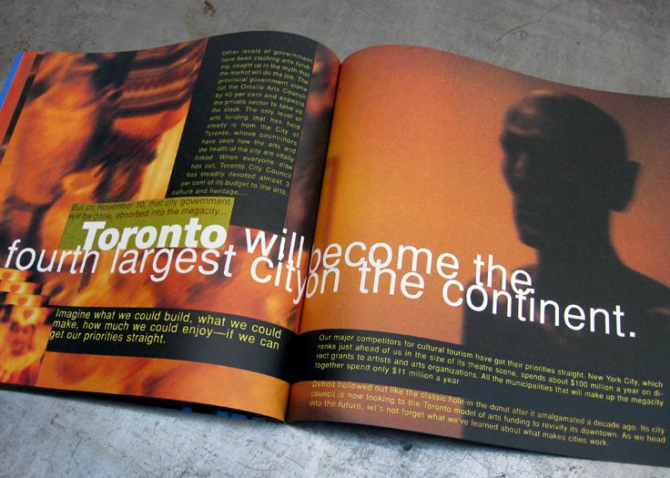 City of Toronto - Culture Brochure Spread #2