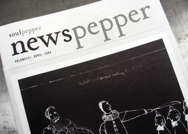 Soulpepper Newspepper