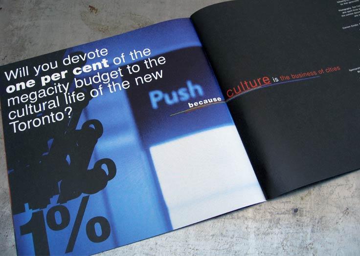 City of Toronto - Culture Brochure Spread #3